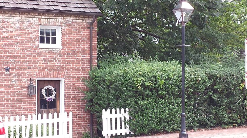 Part of the oldest house in Old Fairfax