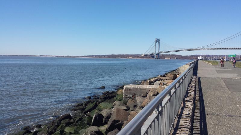 Bay and bridge view