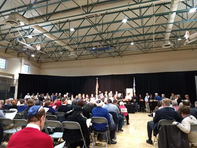 Holocaust Memorial Service JCC NOVA 2018
